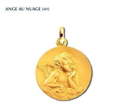Ange, médaille Ange, médaille or jaune 375/1000ème, Rey-Coquais