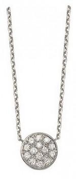 CONFETTIS, collier or blanc et diamants, bijoutier, joaillier, Rey-Coquais, Lyon