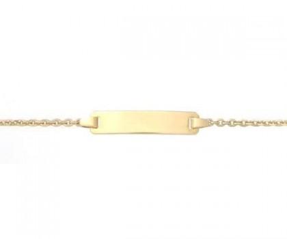 Identité bébé, or jaune 18 carats, bijoutier, joaillier, Rey-Coquais,  Lyon